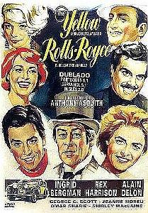 O ROLLS-ROYCE AMARELO