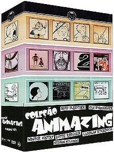 COLEÇÃO ANIMAZING VOL. 1,2 E 3 - 3 DVDS