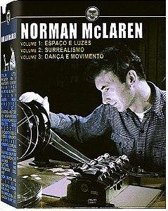 COLEÇÃO NORMAN MCLAREN - 3 DVDS