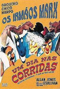 OS IRMÃOS MARX - UM DIA NAS CORRIDAS