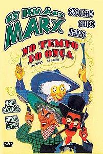 OS IRMÃOS MARX - NO TEMPO DA ONÇA