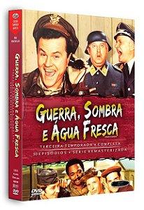 GUERRA, SOMBRA E ÁGUA FRESCA - 3ª TEMPORADA COMPLETA