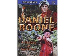 DANIEL BOONE - A HISTÓRIA DE AARON BURR VOL.7
