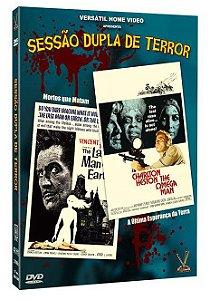 SESSÃO DUPLA DE TERROR – Edição Limitada com 4 Cards (Digistack com 02 DVDs)