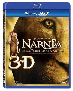 AS CRÔNICAS DE NÁRNIA - A VIAGEM DO PEREGRINO DA ALVORADA (BLU-RAY 3D)
