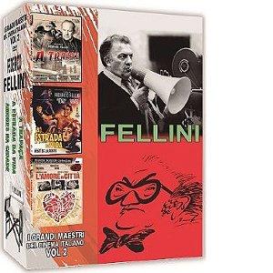 COLEÇÃO FELLINI - I GRANDI MAESTRI DEL CINEMA ITALIANO VOL.2