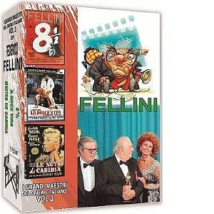 COLEÇÃO FELLINI - I GRANDI MAESTRI DEL CINEMA ITALIANO VOL.3