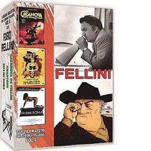 COLEÇÃO FELLINI - I GRANDI MAESTRI DEL CINEMA ITALIANO VOL.4