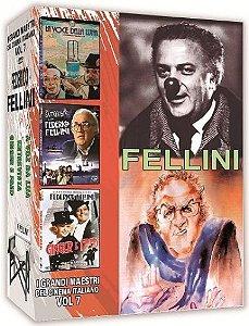COLEÇÃO FELLINI - I GRANDI MAESTRI DEL CINEMA ITALIANO VOL.7
