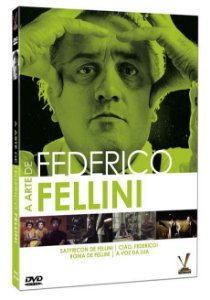 A ARTE DE FEDERICO FELLINI  (Digistack com 2 DVDs)