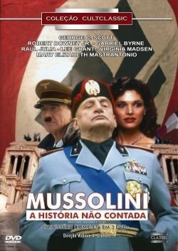 MUSSOLINI - A HISTORIA NÃO CONTADA (3 DVDs)