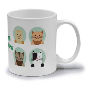 CAT LOVERS - CANECA