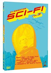 CLÁSSICOS SCI-FI VOL. 3 (3 DVDs)