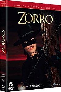 ZORRO – 1ª TEMPORADA COMPLETA (1957/59)