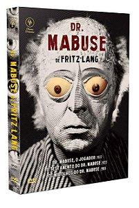 DR. MABUSE DE FRITZ LANG (DIGISTAK COM 4 DVD'S)