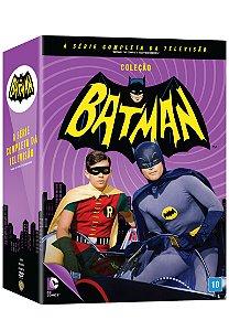 BOX BATMAN  - A SÉRIE COMPLETA DA TELEVISÃO - ENTREGA PREVISTA 29/03/18