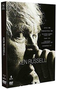 KEN RUSSELL - DIGIPAK COM 4 DVD'S
