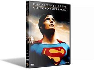 CHRISTOPHER REEVE - COLEÇÃO SUPERMAN - 4 DVDs