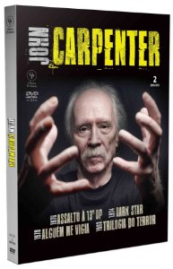JOHN CARPENTER - DIGIPAK COM 2 DVD'S
