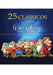 COLEÇÃO 25 CLÁSSICOS DISNEY (20 DVDS)