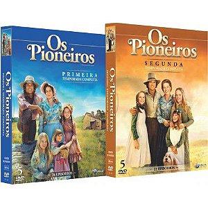 COMBO - OS PIONEIROS (PRIMEIRA E SEGUNDA TEMPORADA) (2 BOXES)