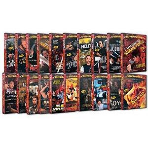 COLEÇÃO CHINA VÍDEO (20 DVDS)