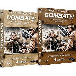 COMBO - COMBATE! SEGUNDA TEMPORADA COMPLETA (2 BOXES)