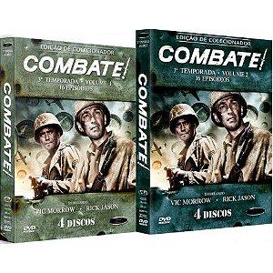COMBO - COMBATE! TERCEIRA TEMPORADA COMPLETA (2 BOXES)
