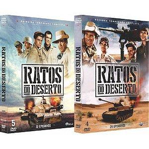 COMBO - RATOS DO DESERTO SÉRIE COMPLETA (2 BOXES)