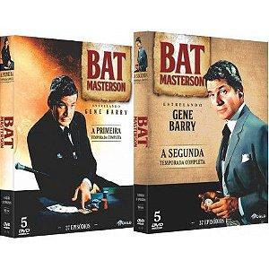 COMBO - BAT MASTERSON PRIMEIRA E SEGUNDA TEMPORADA (2 BOXES)