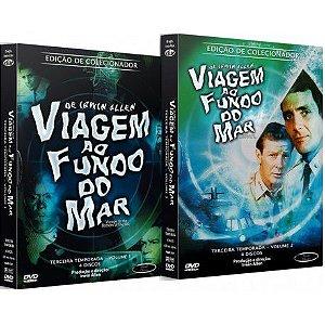 COMBO - VIAGEM AO FUNDO DO MAR TERCEIRA TEMPORADA COMPLETA (2 BOXES)