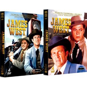 COMBO - JAMES WEST PRIMEIRA TEMPORADA COMPLETA (2 BOXES)