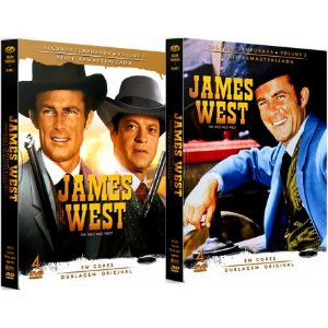 COMBO - JAMES WEST SEGUNDA TEMPORADA COMPLETA (2 BOXES)