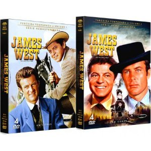 COMBO - JAMES WEST TERCEIRA TEMPORADA COMPLETA (2 BOXES)