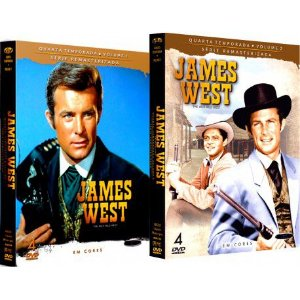 COMBO - JAMES WEST QUARTA TEMPORADA COMPLETA (2 BOXES)