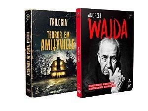 COMBO - TRILOGIA TERROR EM AMITYVILLE + ANDRZEJ WAJDA