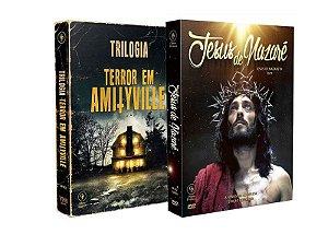 COMBO - JESUS DE NAZARÉ + TRILOGIA TERROR EM AMITYVILLE