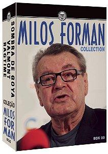 COLEÇÃO MILOS FORMAN  BOX 03 - SOMBRAS DE GOYA / VALMONT / RAGTIME