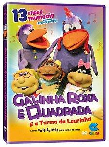GALINHA ROXA E QUADRADA