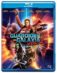 GUARDIÕES DA GALÁXIA VOL.2 (BLU-RAY)