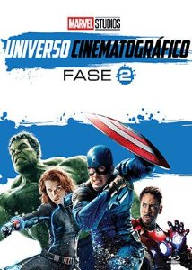 MARVEL UNIVERSO CINEMATOGRÁFICO - FASE 2  BD