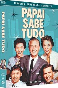 PAPAI SABE TUDO-  3ª TEMPORADA COMPLETA - ENTREGA PREVISTA PARA A PARTIR DE 15/08/2019