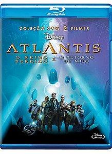 ATLANTIS - EDIÇÃO ESPECIAL 2 FILMES - 1 DISCO - BD