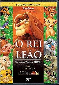 O REI LEÃO TRILOGIA DVD