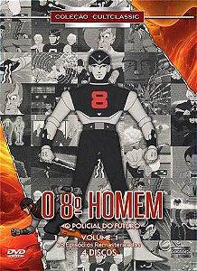 O OITAVO HOMEM - O POLICIAL DO FUTURO - VOLUME 1