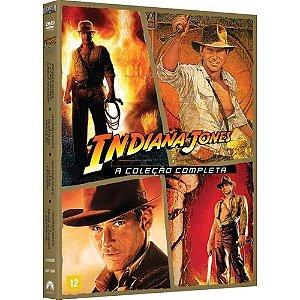 INDIANA JONES - A COLEÇÃO COMPLETA (DVD)