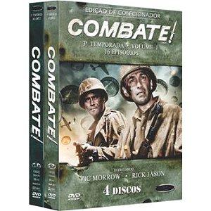 COMBATE! -  3ª TEMPORADA COMPLETA (2 BOXES)