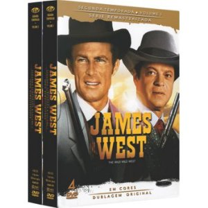 JAMES WEST -  2ª TEMPORADA COMPLETA (2 BOXES)