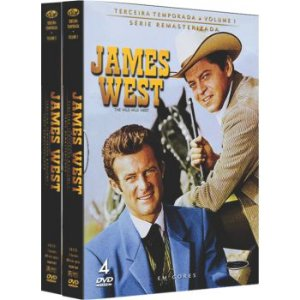 JAMES WEST -  3ª TEMPORADA COMPLETA (2 BOXES)