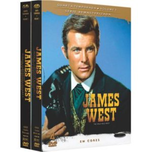 JAMES WEST - 4ª TEMPORADA COMPLETA (2 BOXES)